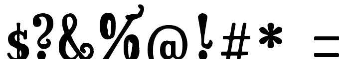Surpal Lovely Font OTHER CHARS
