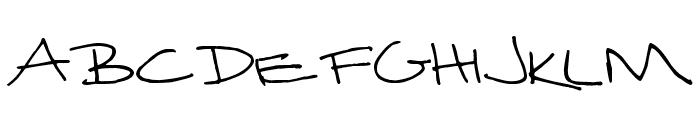Surrendered Heart Font UPPERCASE