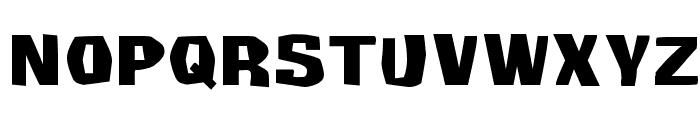 Survivant Font UPPERCASE