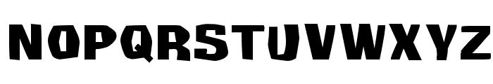 Survivant Font LOWERCASE