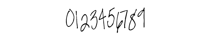 Susie's Hand Font OTHER CHARS