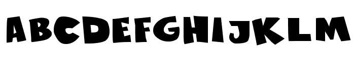 Sustainable Amazon II Bold Font LOWERCASE