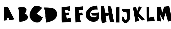 Sustainable Amazon Font UPPERCASE
