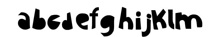 Sustainable Amazon Font LOWERCASE