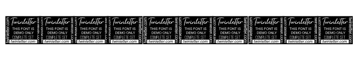 Sutiya Personal Use Font OTHER CHARS
