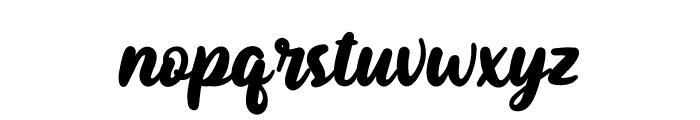 Sutiya Personal Use Font LOWERCASE