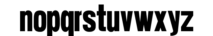 suede Font LOWERCASE