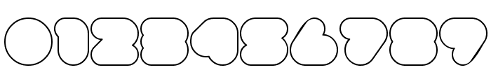 superbubbles Outline Font OTHER CHARS