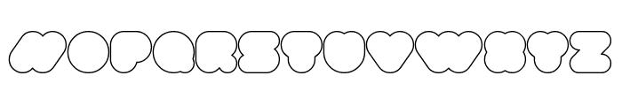 superbubbles Outline Font LOWERCASE