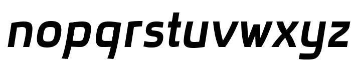 superficial-bolditalic Font LOWERCASE