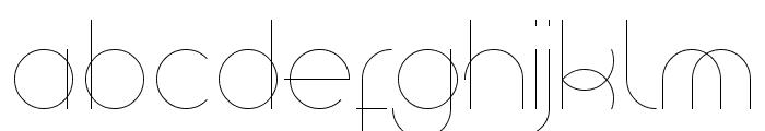 superfine UltraLight Font UPPERCASE