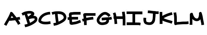 superpowers Font LOWERCASE