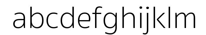 SukhumvitSet-Thin Font LOWERCASE