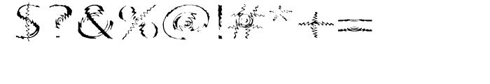 Substance Regular Font OTHER CHARS