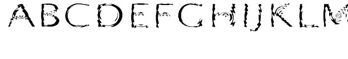 Substance Regular Font UPPERCASE