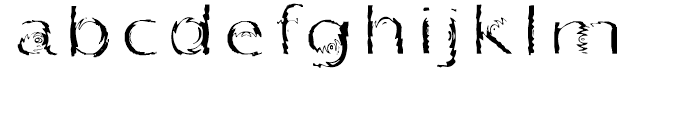 Substance Regular Font LOWERCASE