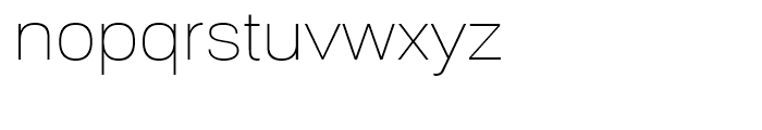 Substance Thin Font LOWERCASE