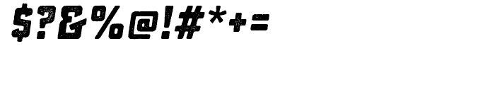 Sucrose Slant Bold One Font OTHER CHARS