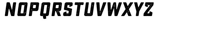 Sucrose Slant Bold One Font LOWERCASE