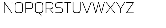 Sui Generis Condensed Extra Light Font UPPERCASE