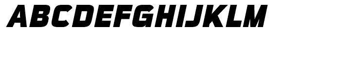 Sui Generis Condensed Heavy Italic Font UPPERCASE