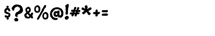 Suited Horse Regular Font OTHER CHARS