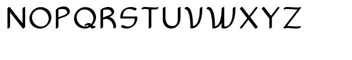 Sultania Regular Font UPPERCASE