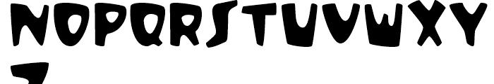 Sunset Regular Font UPPERCASE