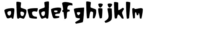 Sunset Regular Font LOWERCASE