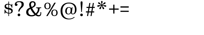 Superclarendon Light Font OTHER CHARS