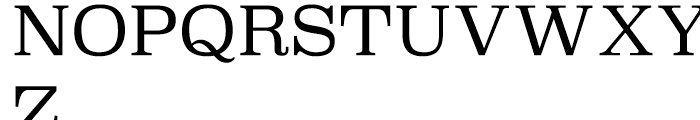 Superclarendon Light Font UPPERCASE