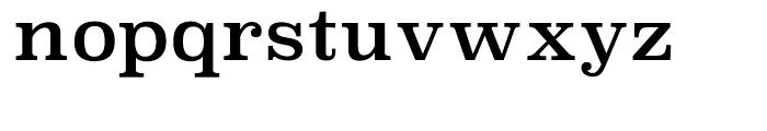 Superclarendon Regular Font LOWERCASE