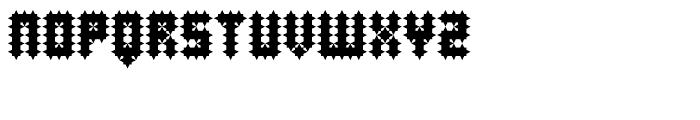 Superfurniture Studded Font UPPERCASE