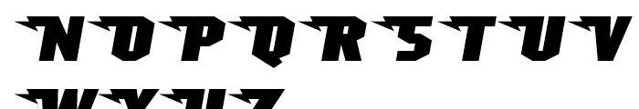 Superheterodyne Regular Font UPPERCASE