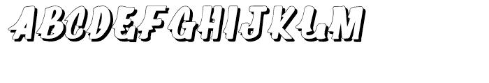 Supermarket Shadow Font UPPERCASE