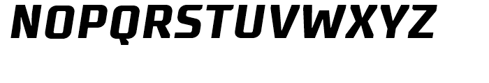 Supermolot Bold Italic Font UPPERCASE