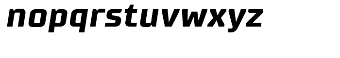 Supermolot Bold Italic Font LOWERCASE