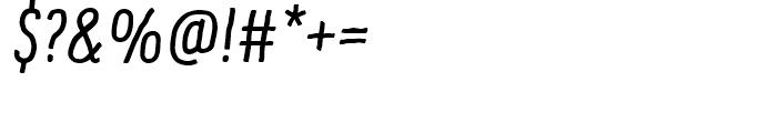 Supernett cn Italic Font OTHER CHARS