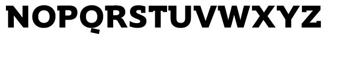 Supra Demiserif Bold Font UPPERCASE