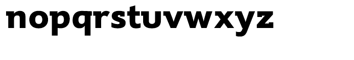 Supra Demiserif Bold Font LOWERCASE