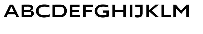 Supra Extended Medium Font UPPERCASE