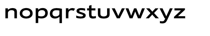 Supra Extended Medium Font LOWERCASE