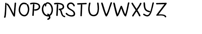 SusiScript Bold Font UPPERCASE