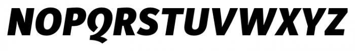 Submariner Black Italic Font UPPERCASE