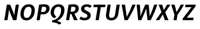 Submariner Bold Italic Font UPPERCASE