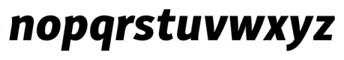 Submariner Extra Bold Italic Font LOWERCASE