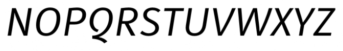 Submariner Italic Font UPPERCASE