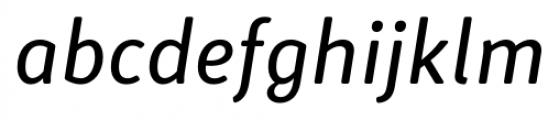 Submariner R24 Book Italic Font LOWERCASE