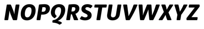 Submariner R24 Extra Bold Italic Font UPPERCASE