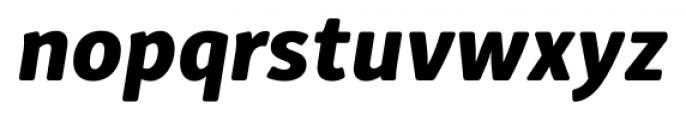 Submariner R24 Extra Bold Italic Font LOWERCASE